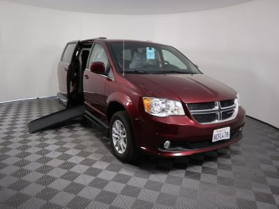 Handicap Van for Sale - 2018 Dodge Grand Caravan SXT Wheelchair Accessible Van VIN: 2C4RDGCG6JR179102