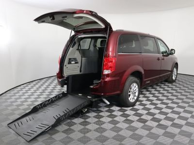 Handicap Van for Sale - 2019 Dodge Grand Caravan SXT Wheelchair Accessible Van VIN: 2C4RDGCG0KR543676