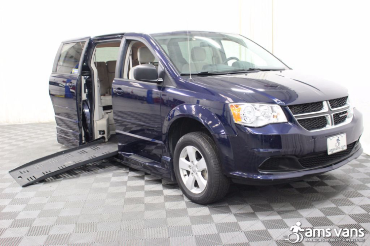 2013 Dodge Grand Caravan American Value Package Wheelchair Van For Sale 1