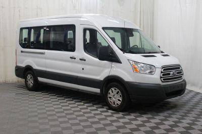 Commercial Wheelchair Vans for Sale - 2018 Ford Transit Passenger 350 XLT ADA Compliant Vehicle VIN: 1FBAX2CM0JKA85877