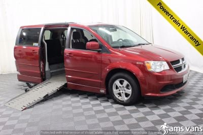2011 Dodge Grand Caravan Wheelchair Van For Sale