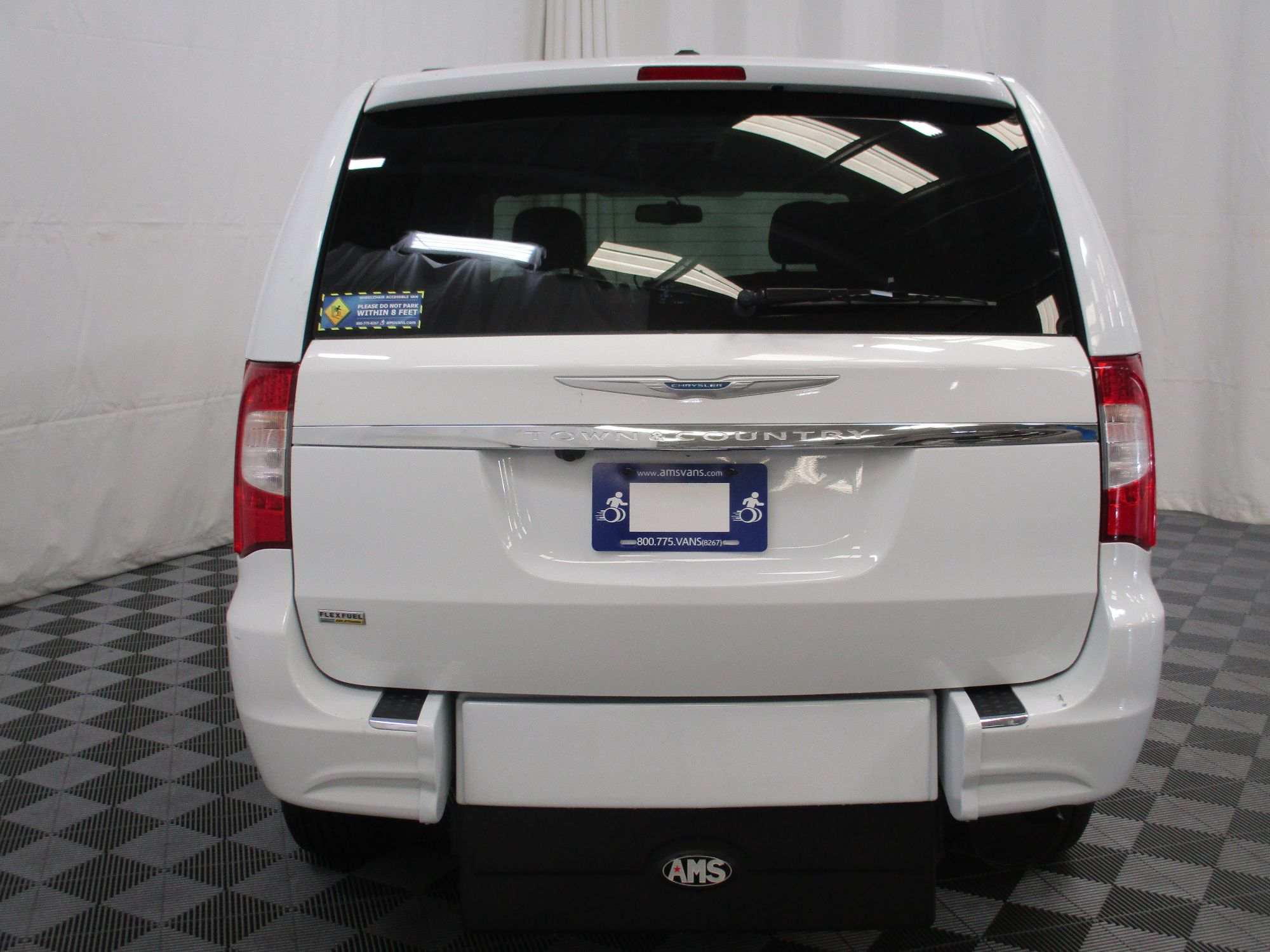 2015 Chrysler Town and Country Touring Wheelchair Van For Sale #13
