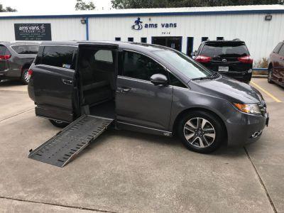 Used Wheelchair Van for Sale - 2015 Honda Odyssey Touring Wheelchair Accessible Van VIN: 5FNRL5H9XFB097331