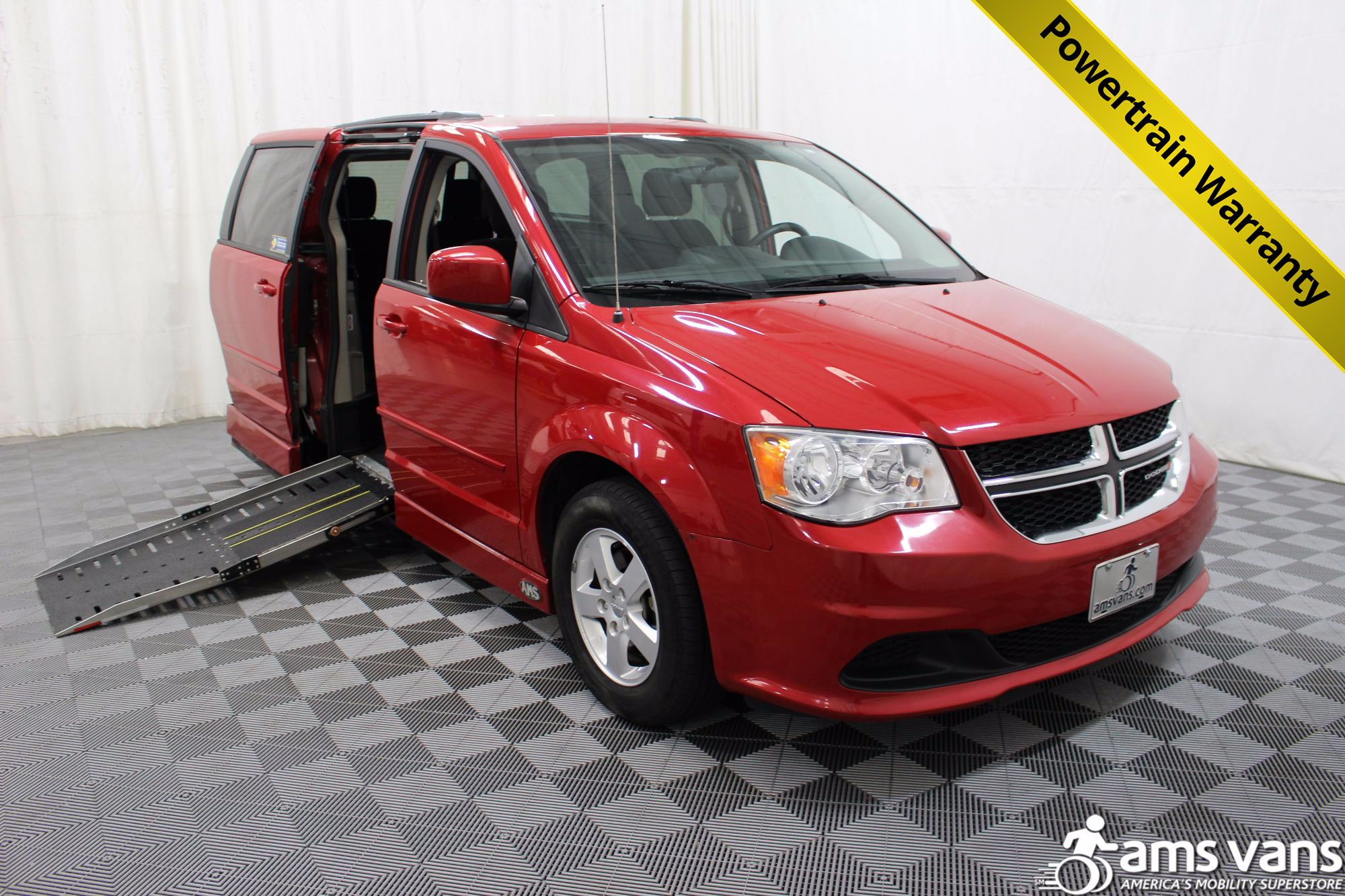 2012 Dodge Grand Caravan SXT Wheelchair Van For Sale #1