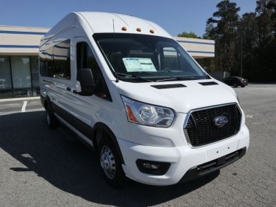 New Wheelchair Van for Sale - 2021 Ford Transit Passenger High Roof 350 HD XLT - 15 Wheelchair Accessible Van VIN: 1FBVU4XG5MKA04659