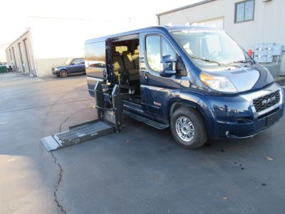 Blue Ram ProMaster Cargo with Side Entry N/A Fold Out ramp