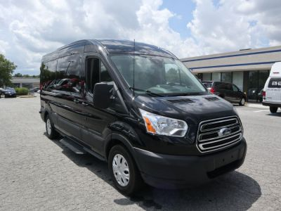 Handicap Van for Sale - 2019 Ford Transit Passenger Mid-Roof 350 XLT - 15 Wheelchair Accessible Van VIN: 1FBAX2CM5KKA47501