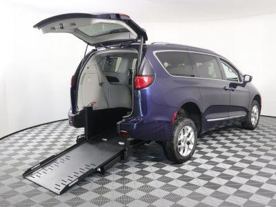 Commercial Wheelchair Vans for Sale - 2019 Chrysler Pacifica Touring L Plus ADA Compliant Vehicle VIN: 2C4RC1EG7KR550718