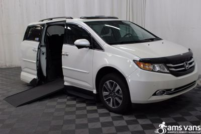 Used 2016 Honda Odyssey Touring Wheelchair Van