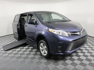 New Wheelchair Van for Sale - 2020 Toyota Sienna LE Mobility Wheelchair Accessible Van VIN: 5TDKZ3DC0LS075285