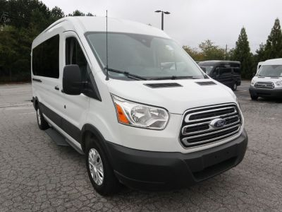New Wheelchair Van for Sale - 2019 Ford Transit Passenger Mid-Roof 350 XLT - 15 Wheelchair Accessible Van VIN: 1FBAX2CM4KKA93563