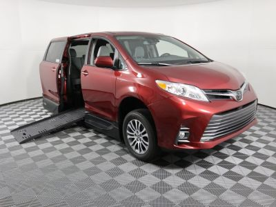 New Wheelchair Van for Sale - 2020 Toyota Sienna XLE NAV Wheelchair Accessible Van VIN: 5TDYZ3DC4LS081875