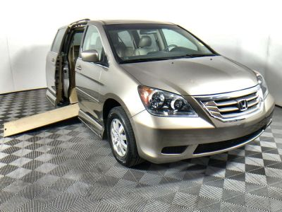 Handicap Van for Sale - 2010 Honda Odyssey EX-L Wheelchair Accessible Van VIN: 5FNRL3H63AB081457