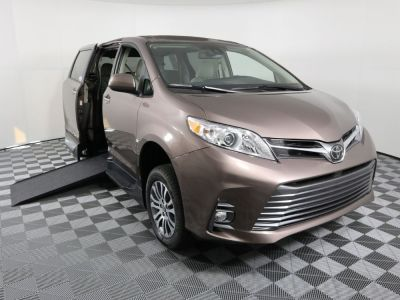 New Wheelchair Van for Sale - 2020 Toyota Sienna XLE Wheelchair Accessible Van VIN: 5TDYZ3DC5LS083165