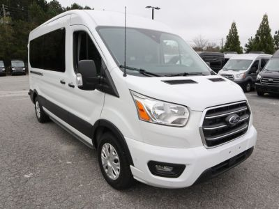 New Wheelchair Van for Sale - 2020 Ford Transit Passenger Mid-Roof 350 XLT - 15 Wheelchair Accessible Van VIN: 1FBAX2C86LKA24748