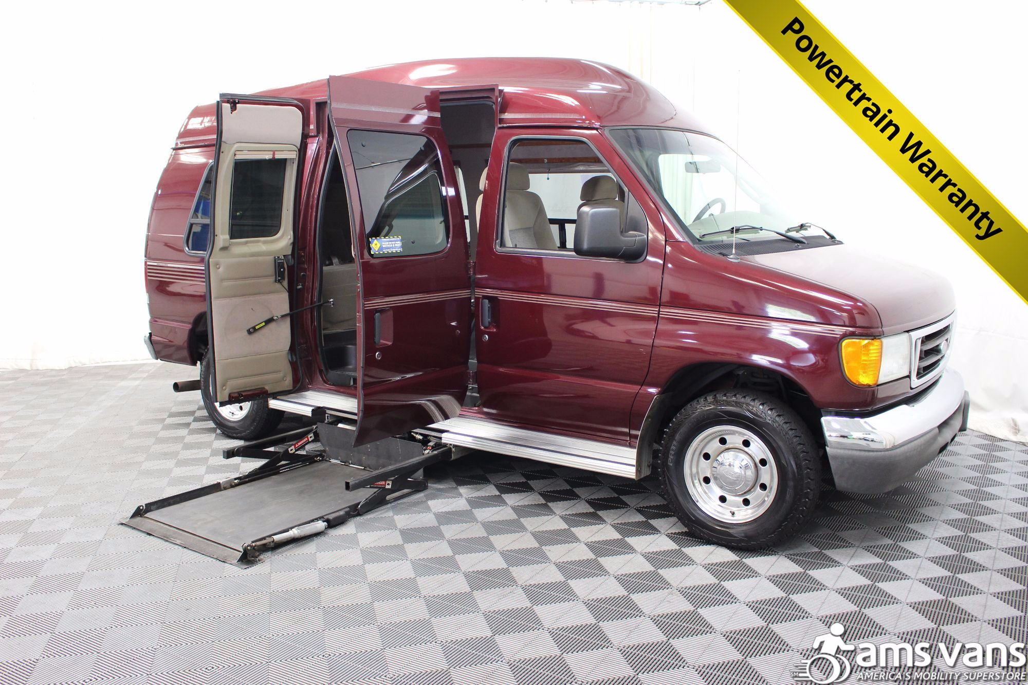 2005 Ford E-Series Chassis E-250 SD Wheelchair Van For Sale #1