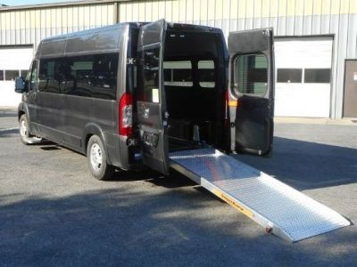Gray Ram ProMaster 2500 with Rear Entry Manual Fold Out ramp