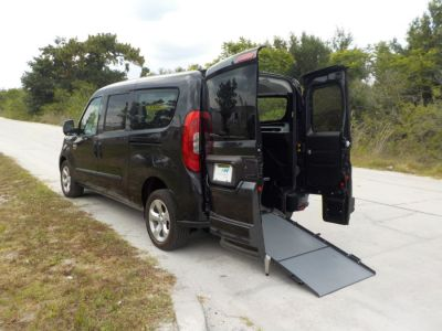 Black Ram ProMaster with Rear Entry Automatic Fold Out ramp