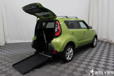 2015 Kia Soul Wheelchair Van For Sale