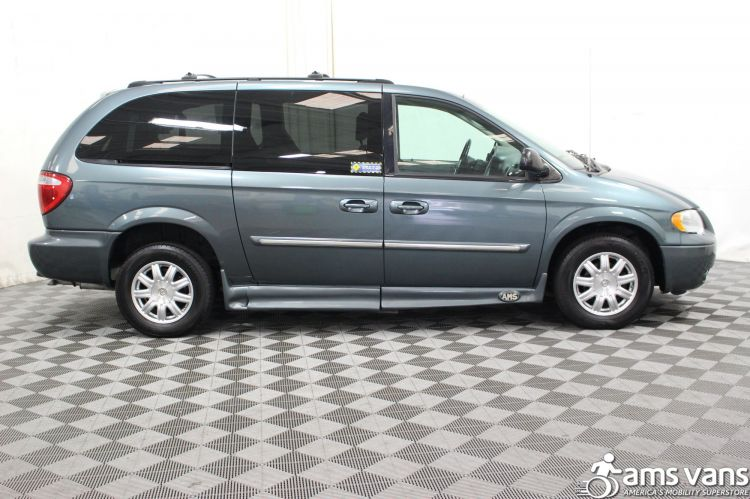 2005 Chrysler Town and Country Touring Wheelchair Van For Sale #2