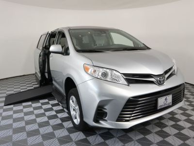 New Wheelchair Van for Sale - 2019 Toyota Sienna LE Standard Wheelchair Accessible Van VIN: 5TDKZ3DC1KS010508