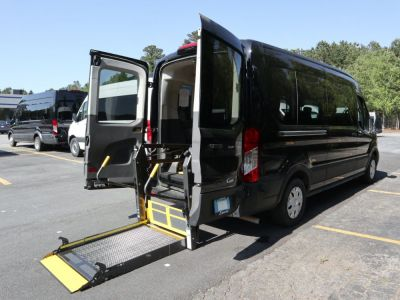 Commercial Wheelchair Vans for Sale - 2020 Ford Transit Passenger Mid-Roof 350 XLT - 15 ADA Compliant Vehicle VIN: 1FBAX2C87LKA15170