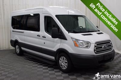 Used 2015 Ford Transit Wagon 350 XL Medium Roof 12 Pass. Wheelchair Van