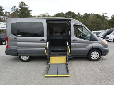 Used Wheelchair Van for Sale - 2015 Ford Transit Passenger 350 XLT Wheelchair Accessible Van VIN: 1FBAX2CMXFKA58757