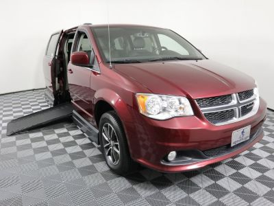 Handicap Van for Sale - 2017 Dodge Grand Caravan SXT Wheelchair Accessible Van VIN: 2C4RDGCG6HR732289