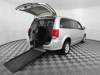 Used Wheelchair Van for Sale - 2012 Dodge Grand Caravan SXT Wheelchair Accessible Van VIN: 2C4RDGCG1CR275741