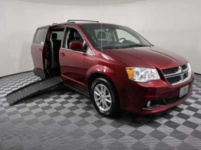 New Wheelchair Van for Sale - 2019 Dodge Grand Caravan SXT Wheelchair Accessible Van VIN: 2C4RDGCG8KR693552