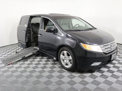 Used Wheelchair Van for Sale - 2013 Honda Odyssey Touring Wheelchair Accessible Van VIN: 5FNRL5H96DB041366