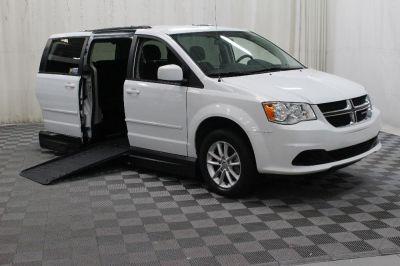 Handicap Van for Sale - 2016 Dodge Grand Caravan SXT Wheelchair Accessible Van VIN: 2C4RDGCGXGR380395