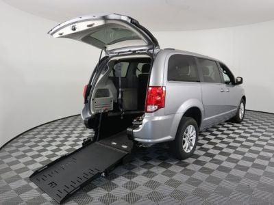 Commercial Wheelchair Vans for Sale - 2019 Dodge Grand Caravan SXT ADA Compliant Vehicle VIN: 2C4RDGCG1KR580624