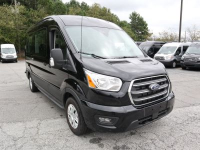 New Wheelchair Van for Sale - 2020 Ford Transit Passenger Mid-Roof 350 XLT - 15 Wheelchair Accessible Van VIN: 1FBAX2C8XLKA15163