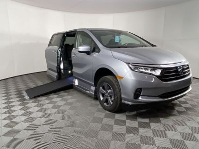 New Wheelchair Van for Sale - 2021 Honda Odyssey EX Wheelchair Accessible Van VIN: 5FNRL6H5XMB034259