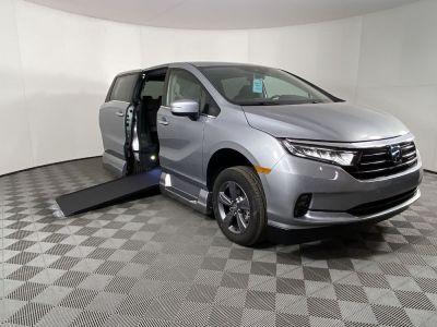 New Wheelchair Van for Sale - 2021 Honda Odyssey EX Wheelchair Accessible Van VIN: 5FNRL6H5XMB034259