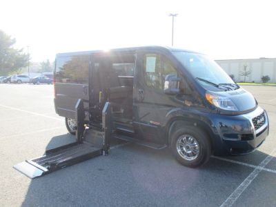 Blue Ram ProMaster Cargo with Side Entry N/A N/A ramp